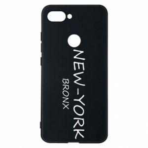 Etui na Xiaomi Mi8 Lite New-York Bronx