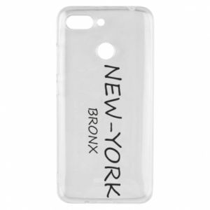 Phone case for Xiaomi Redmi 6 New-York Bronx