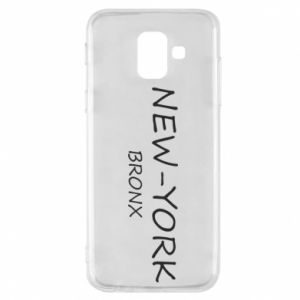 Phone case for Samsung A6 2018 New-York Bronx