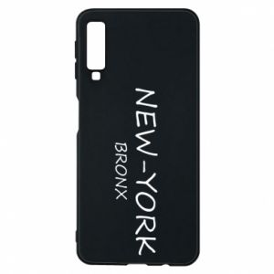 Phone case for Samsung A7 2018 New-York Bronx