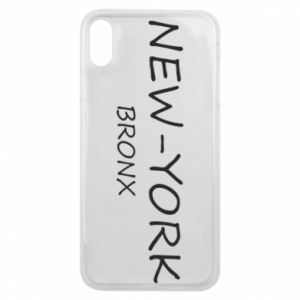 Etui na iPhone Xs Max New-York Bronx