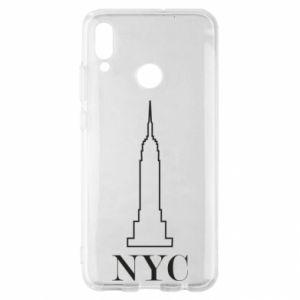 Etui na Huawei P Smart 2019 New york tower