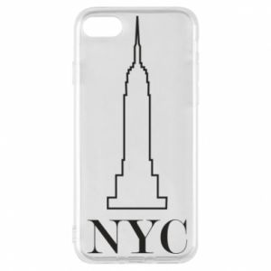 Phone case for iPhone 7 New york tower