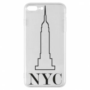 Phone case for iPhone 7 Plus New york tower
