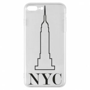 Phone case for iPhone 8 Plus New york tower