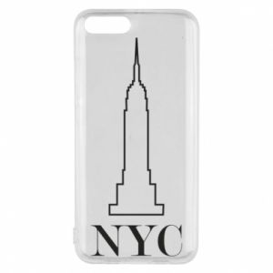 Phone case for Xiaomi Mi6 New york tower