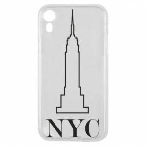 Phone case for iPhone XR New york tower