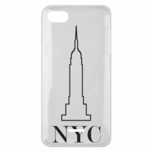 Phone case for Xiaomi Redmi 6A New york tower