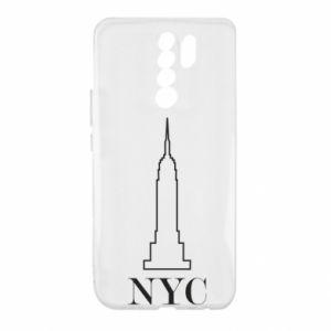 Xiaomi Redmi 9 Case New york tower