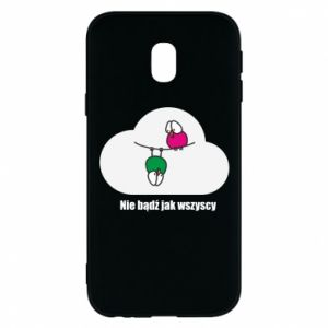Phone case for Samsung J3 2017 Do not be like everyone else!