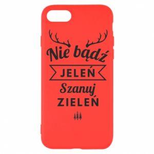 Etui na iPhone SE 2020 Nie bądż jeleń