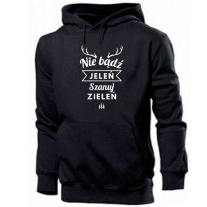 Men's hoodie Don't be a deer
