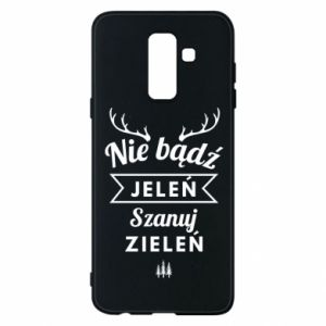 Phone case for Samsung A6+ 2018 Don't be a deer