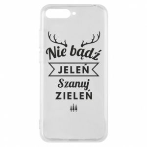 Phone case for Huawei Y6 2018 Don't be a deer