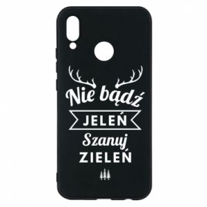 Phone case for Huawei P20 Lite Don't be a deer