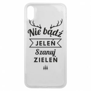 Phone case for iPhone Xs Max Don't be a deer