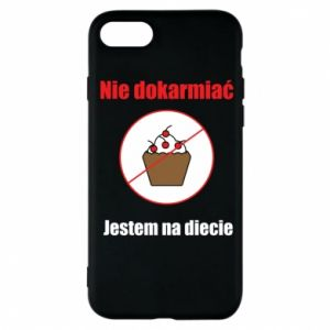 Phone case for iPhone 8 Do not feed. I'm on a diet