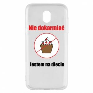 Phone case for Samsung J5 2017 Do not feed. I'm on a diet