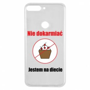 Phone case for Huawei Y7 Prime 2018 Do not feed. I'm on a diet