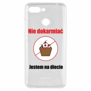 Phone case for Xiaomi Redmi 6 Do not feed. I'm on a diet