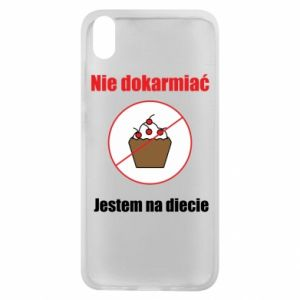 Phone case for Xiaomi Redmi 7A Do not feed. I'm on a diet