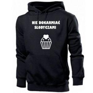 Men's hoodie Do not feed... - PrintSalon