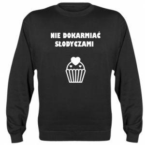 Sweatshirt Do not feed... - PrintSalon