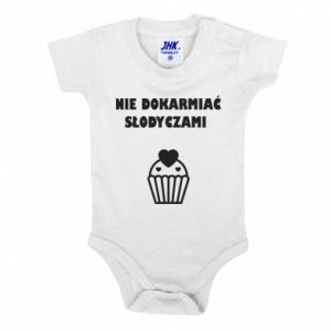 Baby bodysuit Do not feed... - PrintSalon