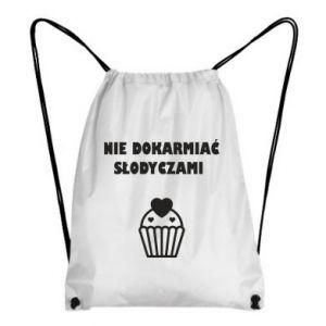 Plecak-worek Nie dokarmiać...