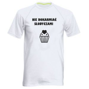Men's sports t-shirt Do not feed... - PrintSalon
