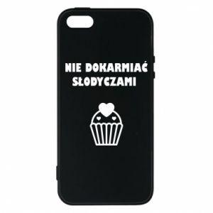 Phone case for iPhone 5/5S/SE Do not feed... - PrintSalon