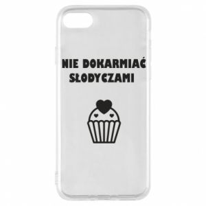 Phone case for iPhone 8 Do not feed... - PrintSalon