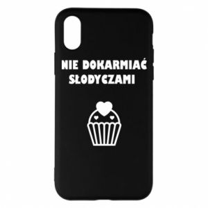 Phone case for iPhone X/Xs Do not feed... - PrintSalon