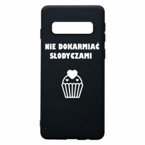 Phone case for Samsung S10 Do not feed... - PrintSalon
