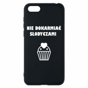 Phone case for Huawei Y5 2018 Do not feed... - PrintSalon