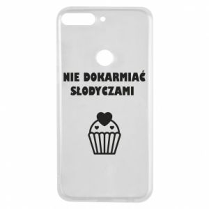 Phone case for Huawei Y7 Prime 2018 Do not feed... - PrintSalon
