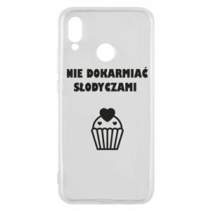 Phone case for Huawei P20 Lite Do not feed... - PrintSalon