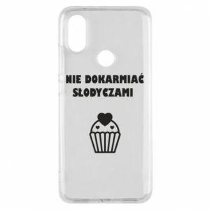 Phone case for Xiaomi Mi A2 Do not feed... - PrintSalon