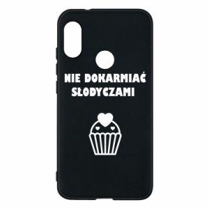 Phone case for Mi A2 Lite Do not feed... - PrintSalon