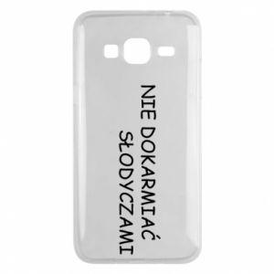 Etui na Samsung J3 2016 Nie dokarmiać