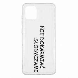 Etui na Samsung Note 10 Lite Nie dokarmiać