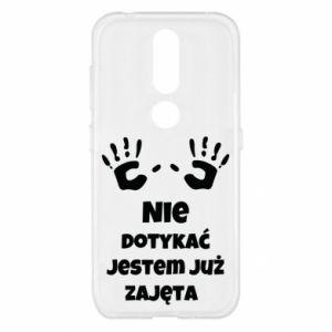 Etui na Nokia 4.2 Nie dotykać jestem już zajęta