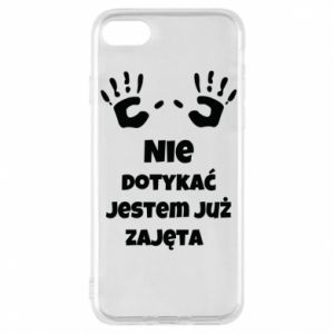 Phone case for iPhone 8 Do not touch...