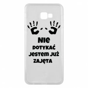 Phone case for Samsung J4 Plus 2018 Do not touch... - PrintSalon