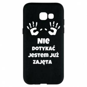 Phone case for Samsung A5 2017 Do not touch... - PrintSalon