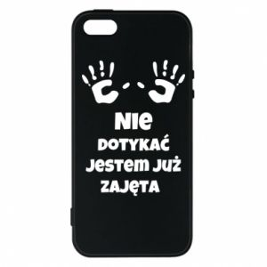 Phone case for iPhone 5/5S/SE Do not touch... - PrintSalon
