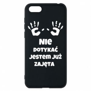 Phone case for Huawei Y5 2018 Do not touch... - PrintSalon