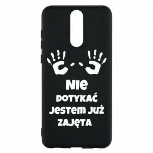 Phone case for Huawei Mate 10 Lite Do not touch... - PrintSalon
