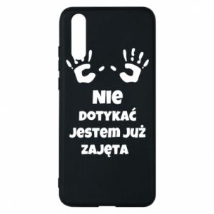 Phone case for Huawei P20 Do not touch... - PrintSalon