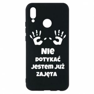 Phone case for Huawei P20 Lite Do not touch...